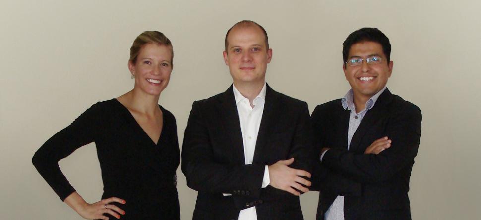 Sonja Kosman '08BUS, Jens Kosman, Alex Roman
