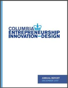 Columbia Entrepreneurship Annual Report