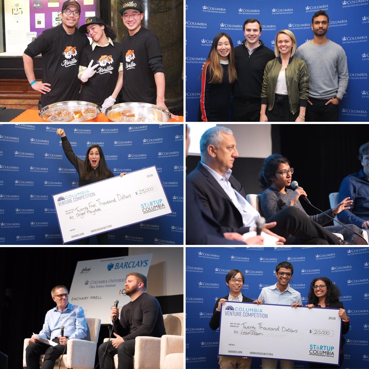 Snapshots from StartupColumbia 2018