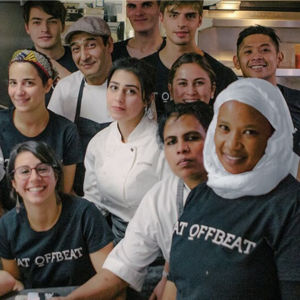Employees of EatOffbeat