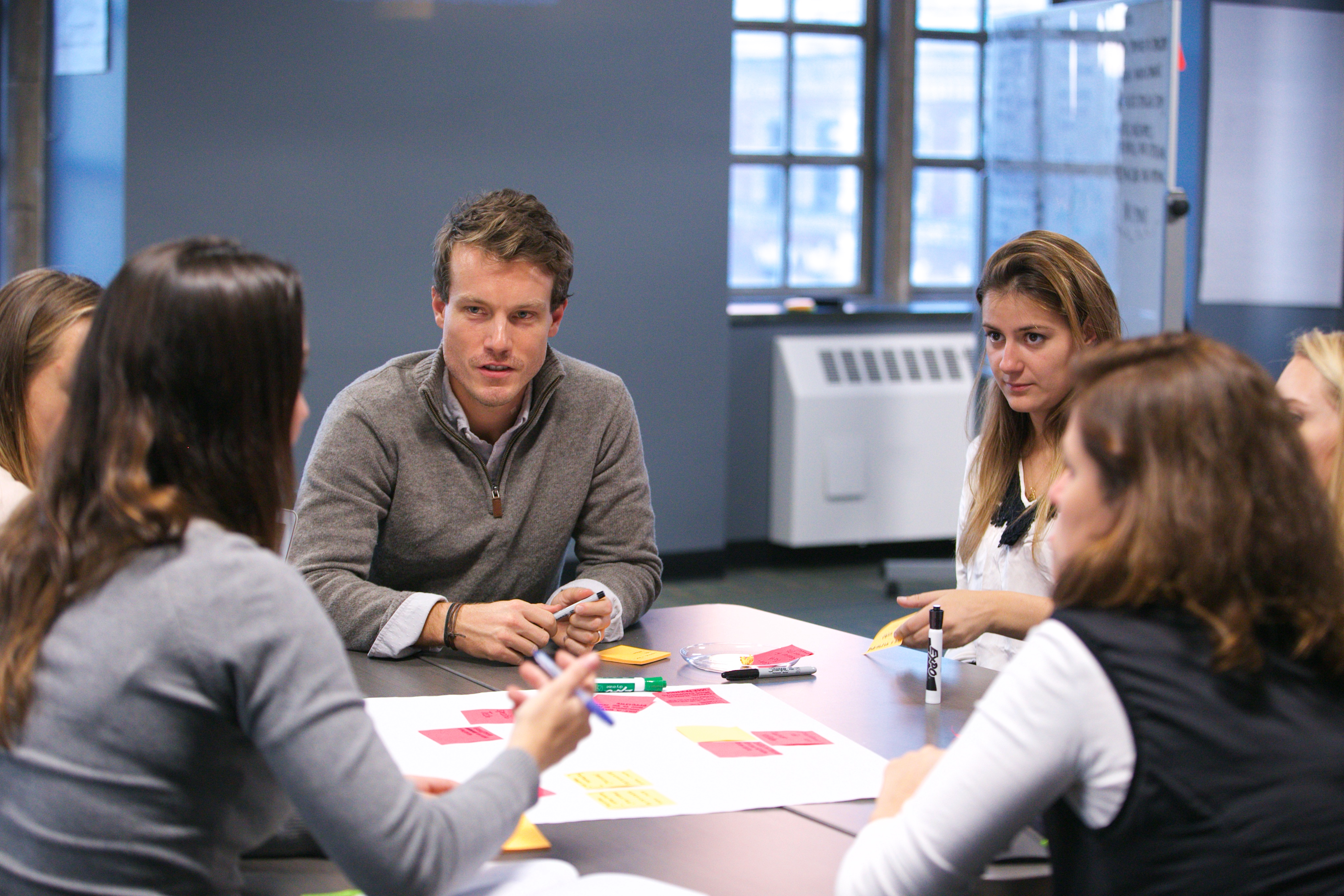 EdTech Design Challenge Design Sprint - group shot 3